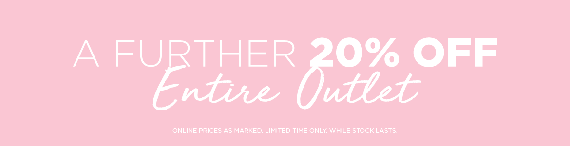 Further 20% Off All Outlet